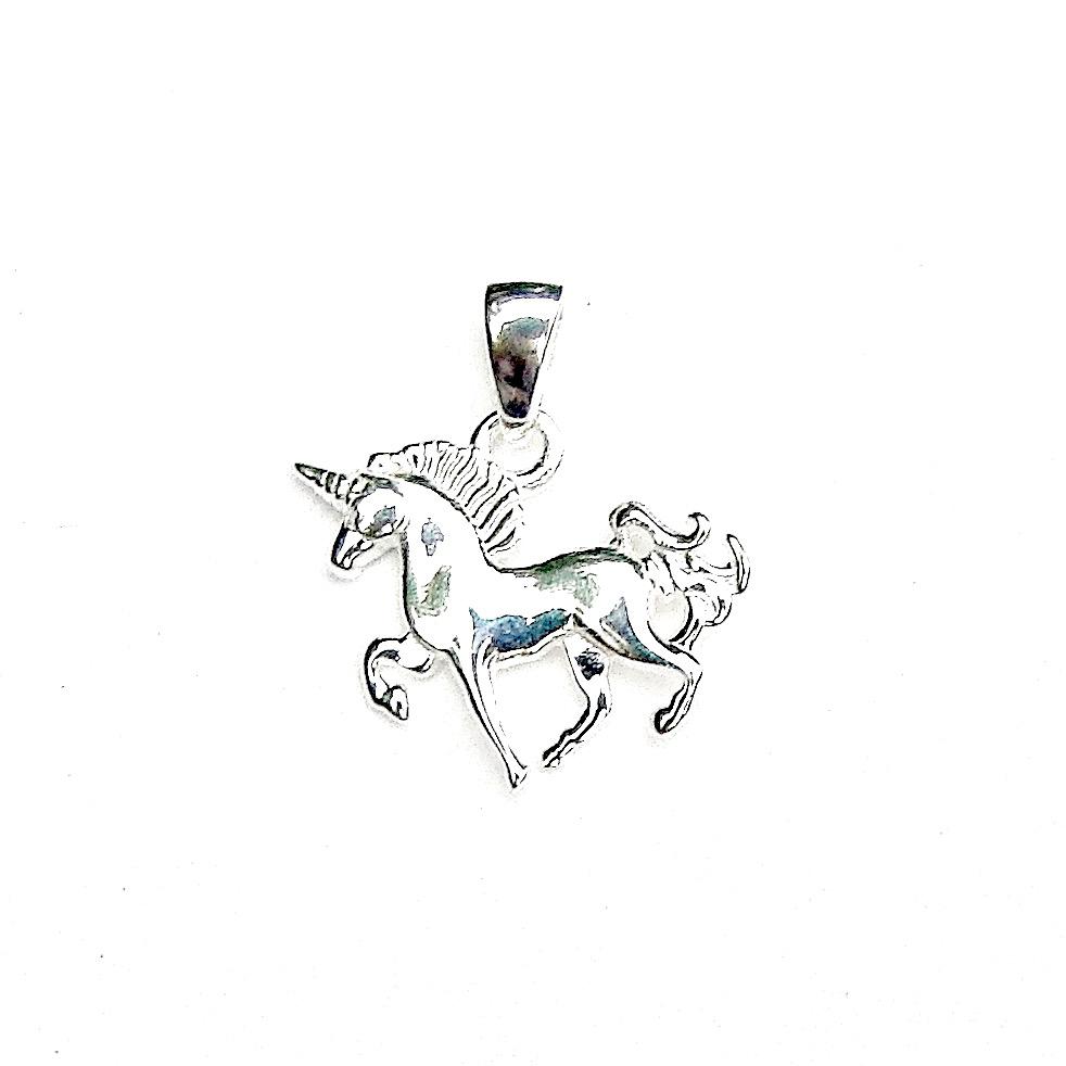 Beautiful Dainty Unicorn Pendant