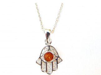 Beautiful Dainty Hand of Fatima Necklace