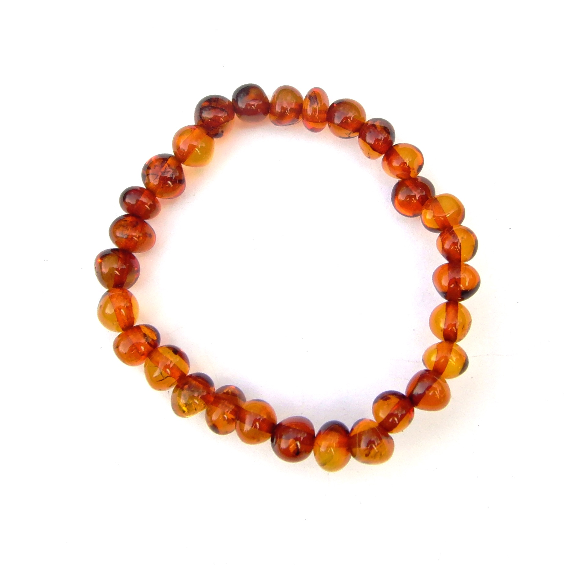 Beautiful Amber Small Beaded Bracelet