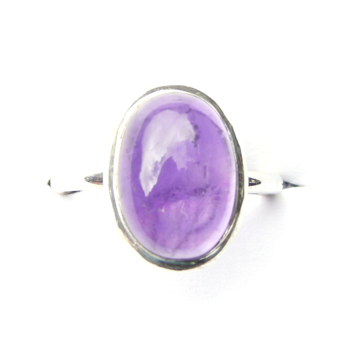 Amethyst Oval Ring.