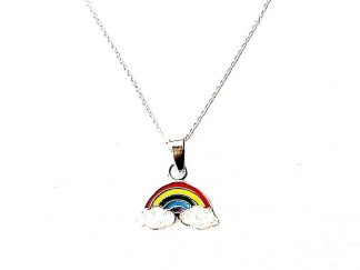 Beautiful Childs Rainbow Necklace