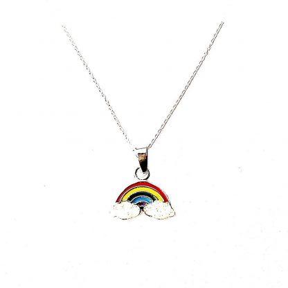 Beautiful Childs Rainbow Necklace