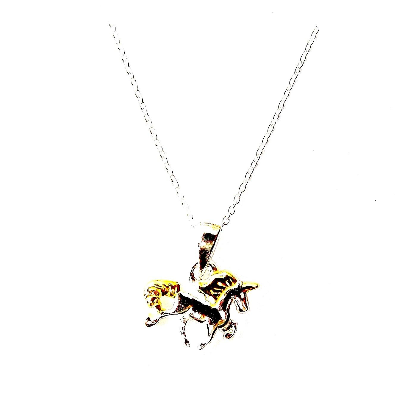 Beautiful Child's Unicorn Necklace