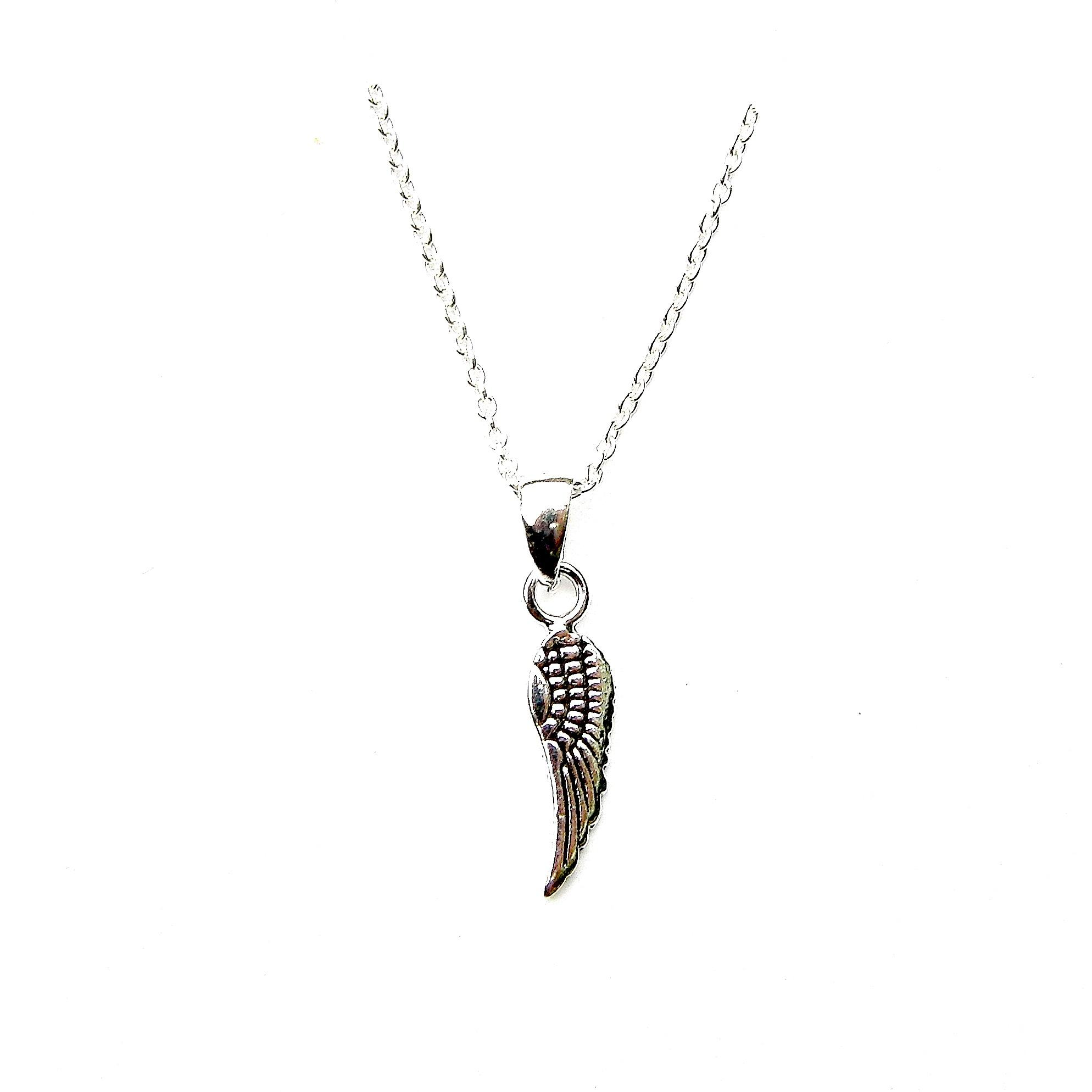 Beautiful Dainty Angel Wing Necklace