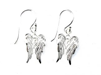Stunning Double Angel Wing Earrings