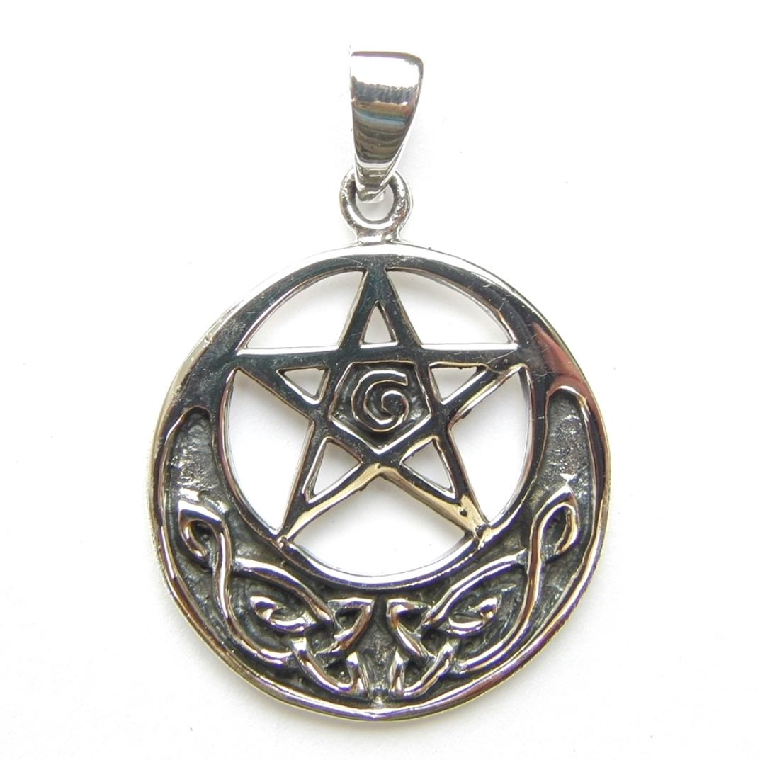 Celtic Large Pentagram Pendant.