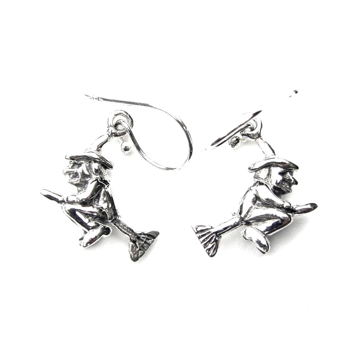 Flying Witch Earrings.