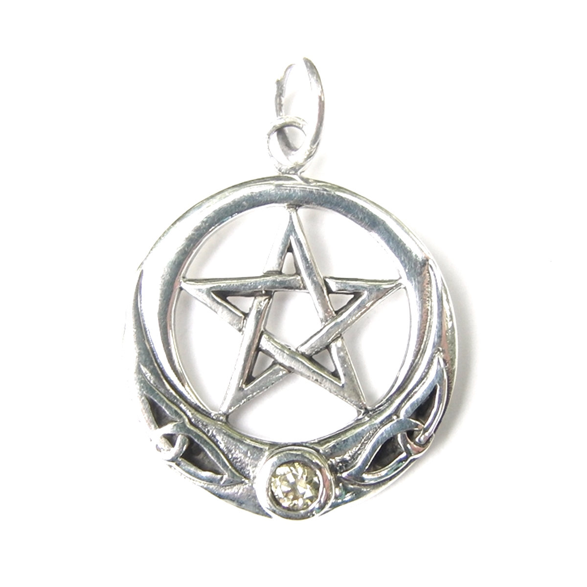 Pretty Celtic Pentagram Pendant.