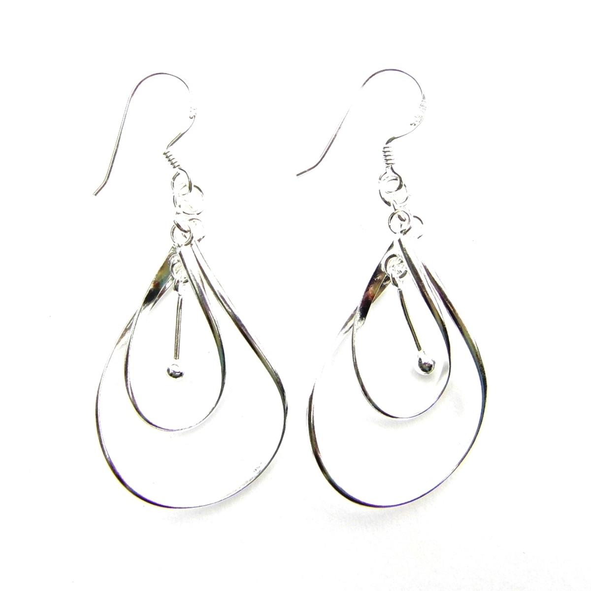 Beautiful Large Dangling Earrings