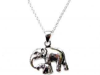 Lovely Elephant and Baby Necklace