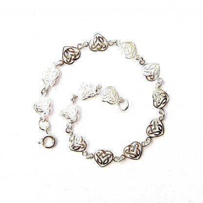 Beautiful Filigree Heart Bracelet