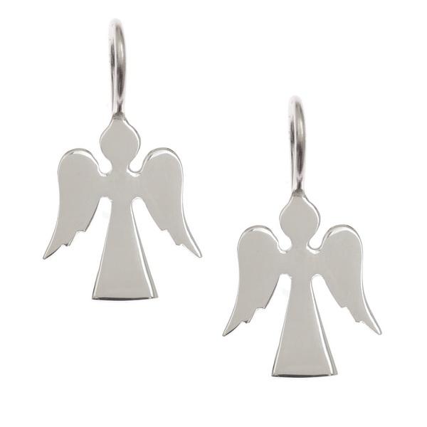 Pretty Guardian Angel Earrings