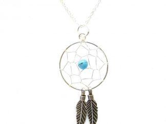 Medium Dreamcatcher Necklace