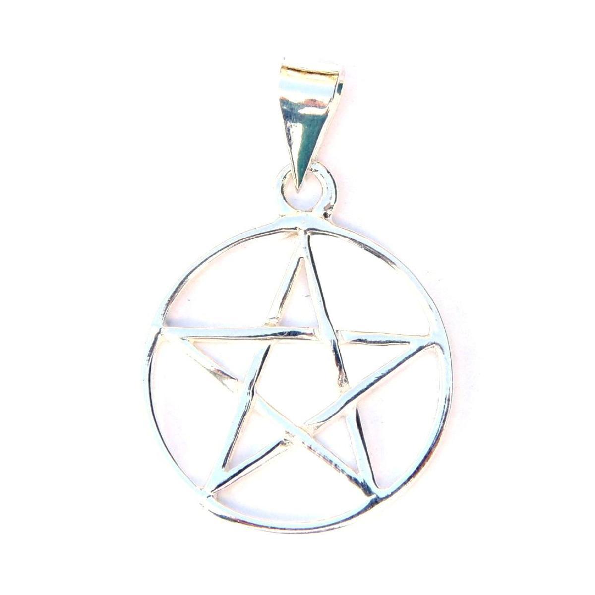Lovely Large Pentagram Pendant.