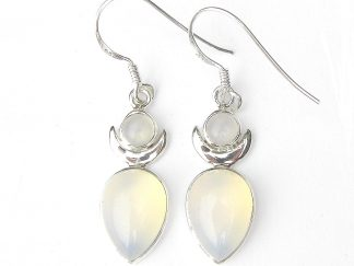 Opalite Large Goddess Earrings