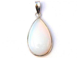 Pretty Opalite Teardrop Pendant