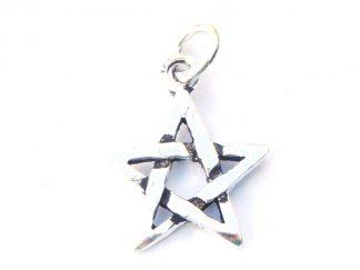 Lovely Small Chunky Pentagram Pendant