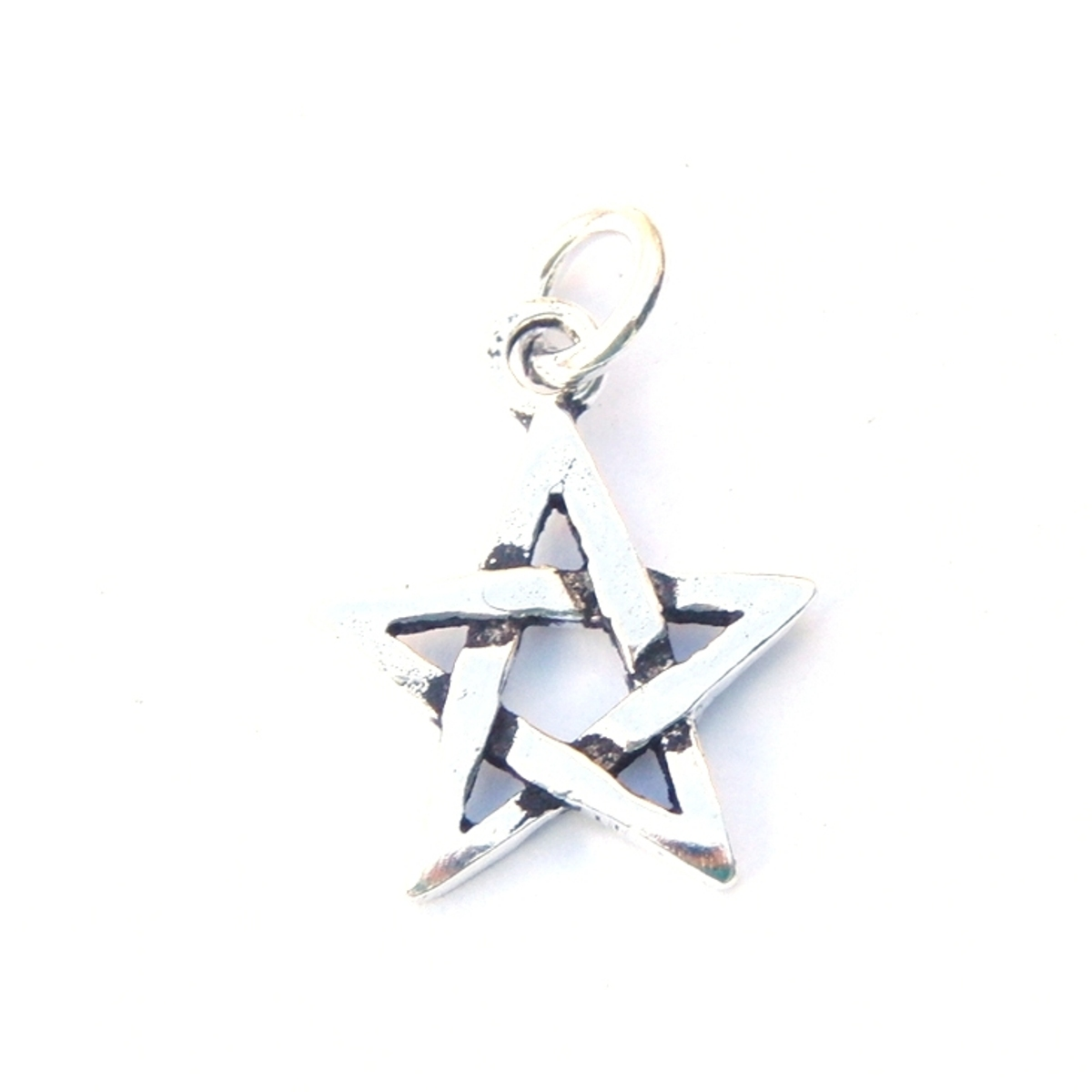 Lovely Small Chunky Pentagram Pendant