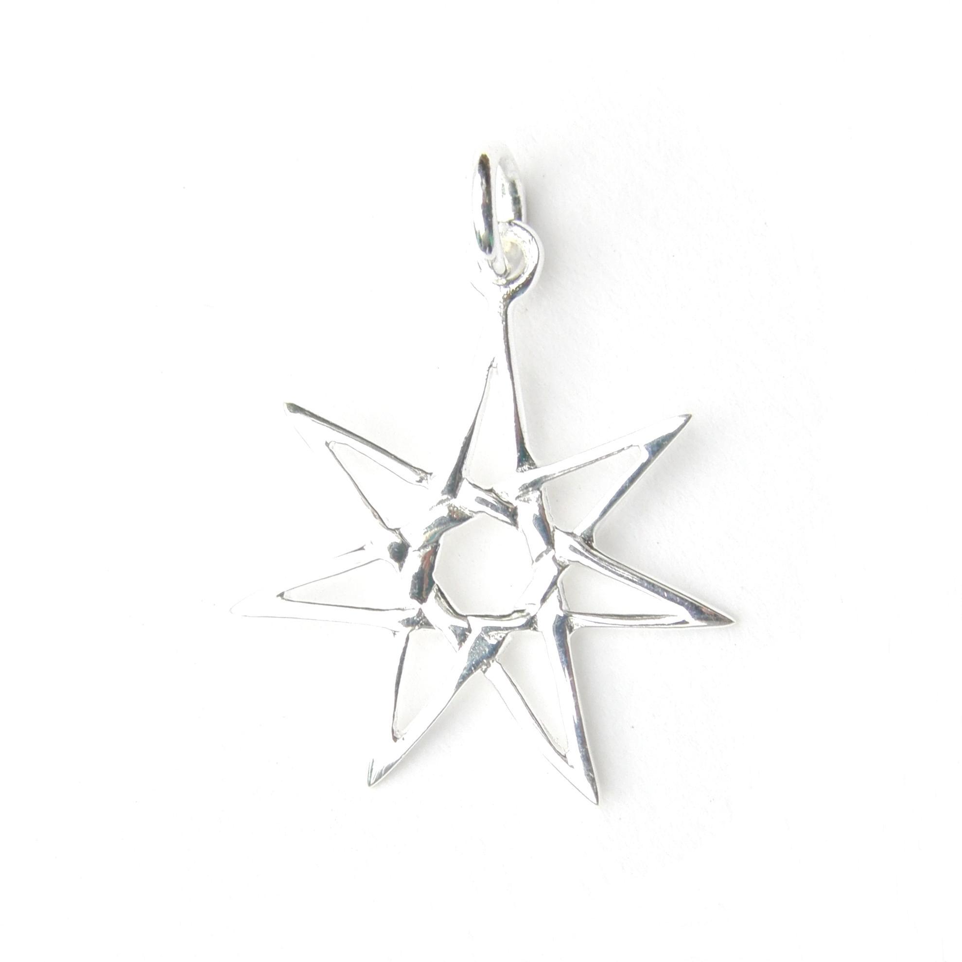 Lovely Starburst Star Pendant.