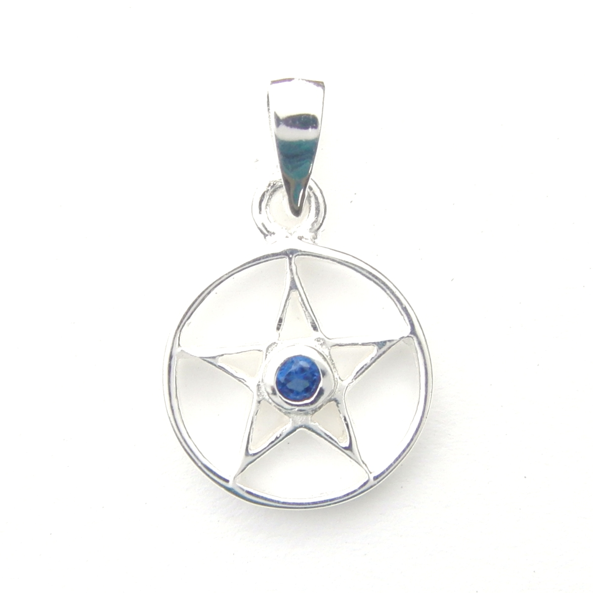 Lovely Crystal Pentagram Pendant