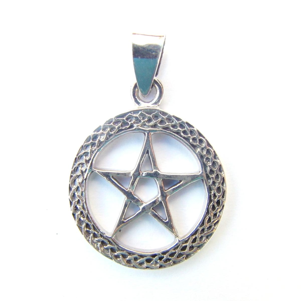 Celtic Pentagram Pendant.