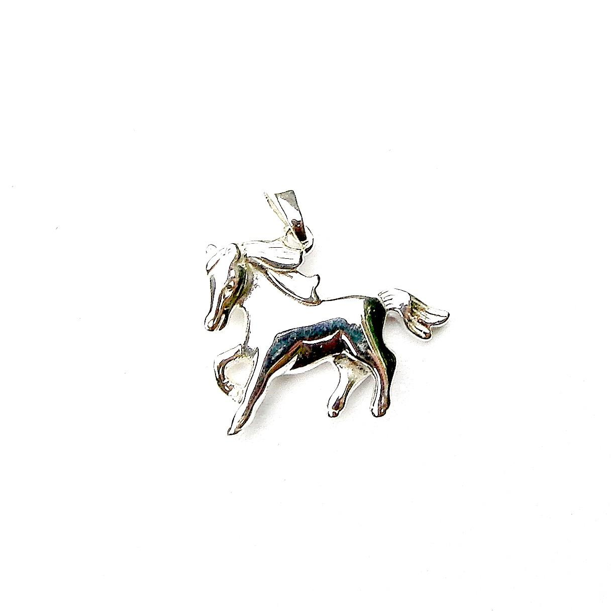 Beautiful Dainty Horse Pendant