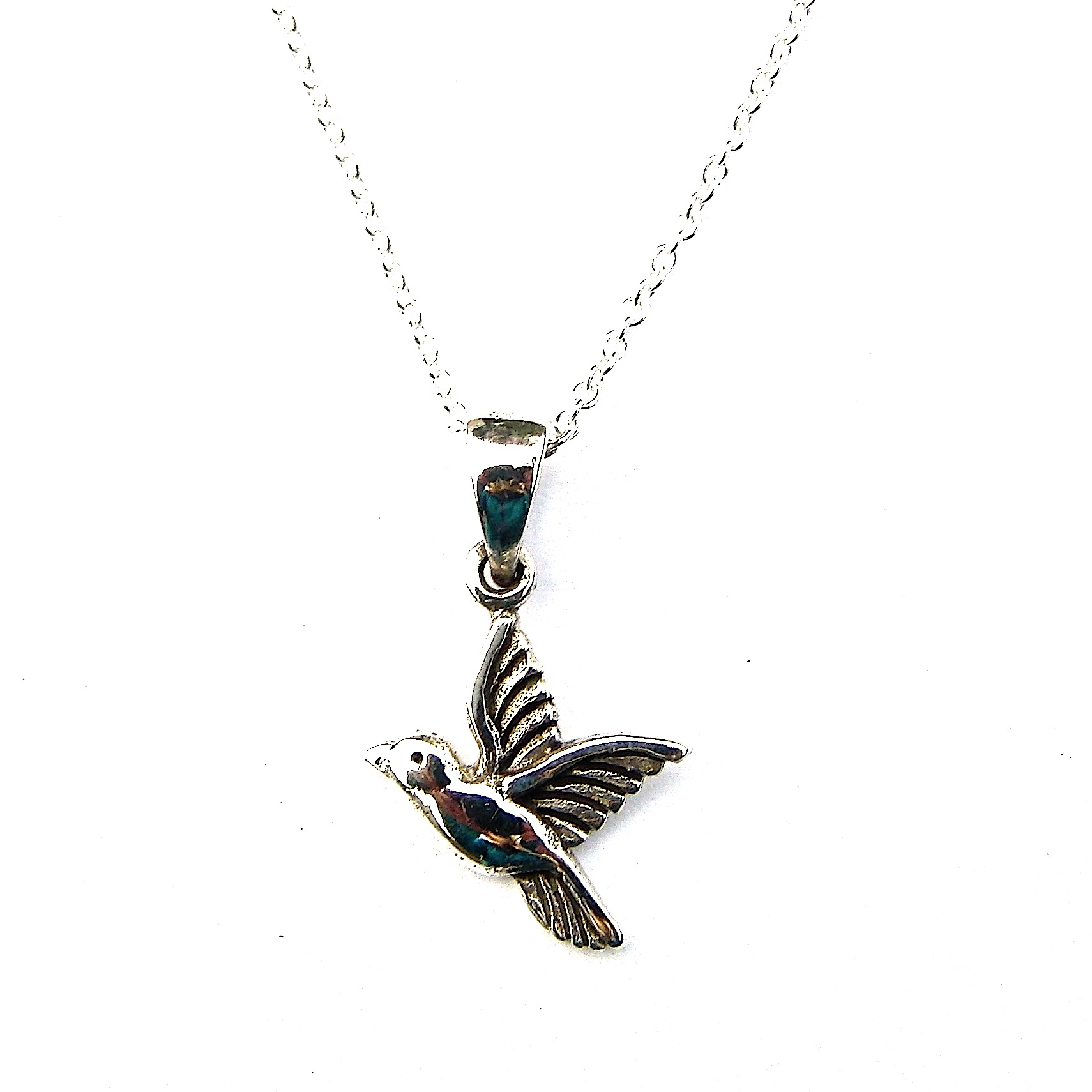 Pretty Humming Bird Necklace