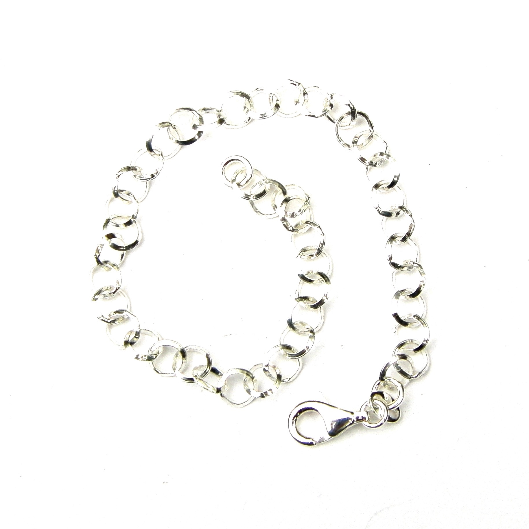 Beautiful Silver Charm Bracelet