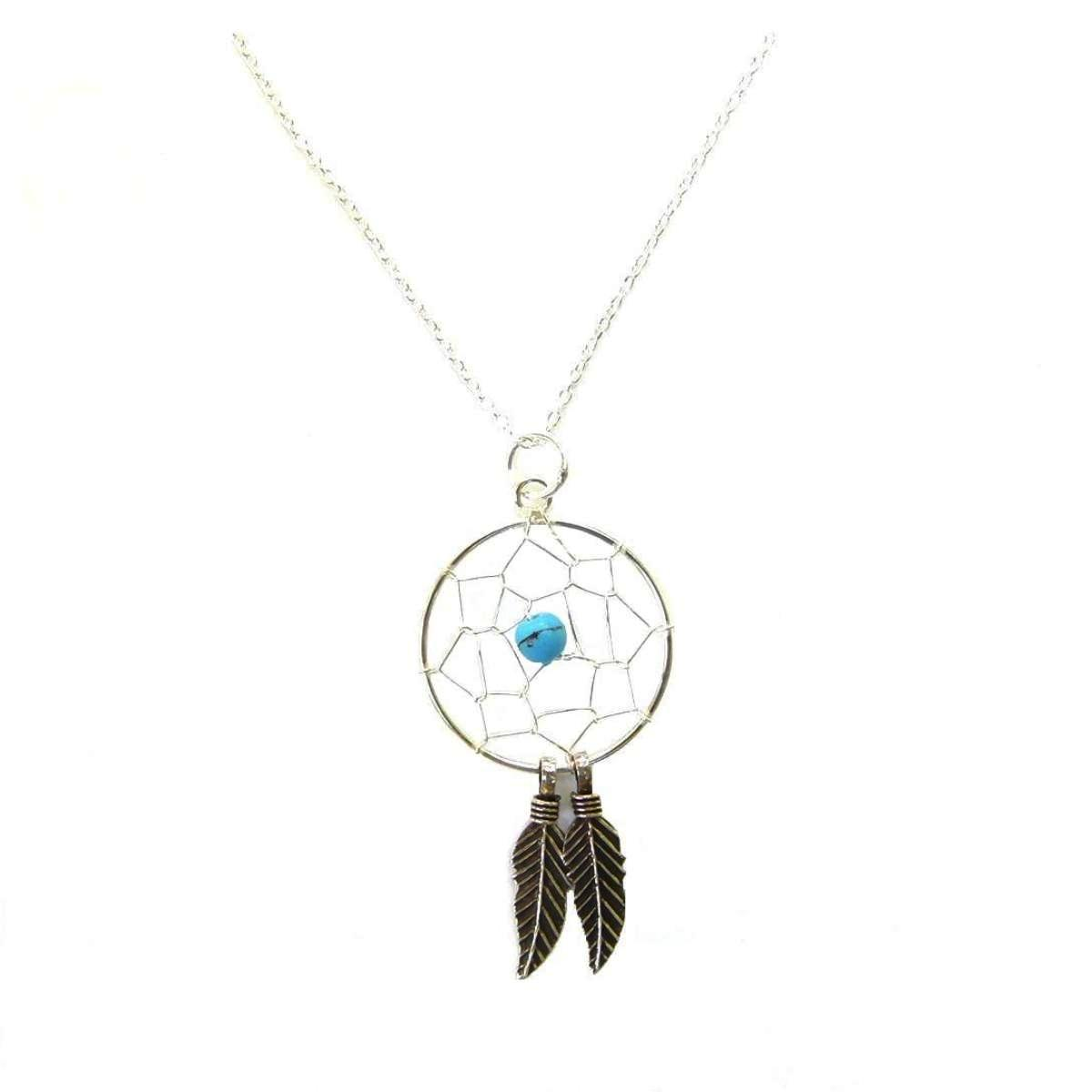 Dreamcatcher Silver Necklace.