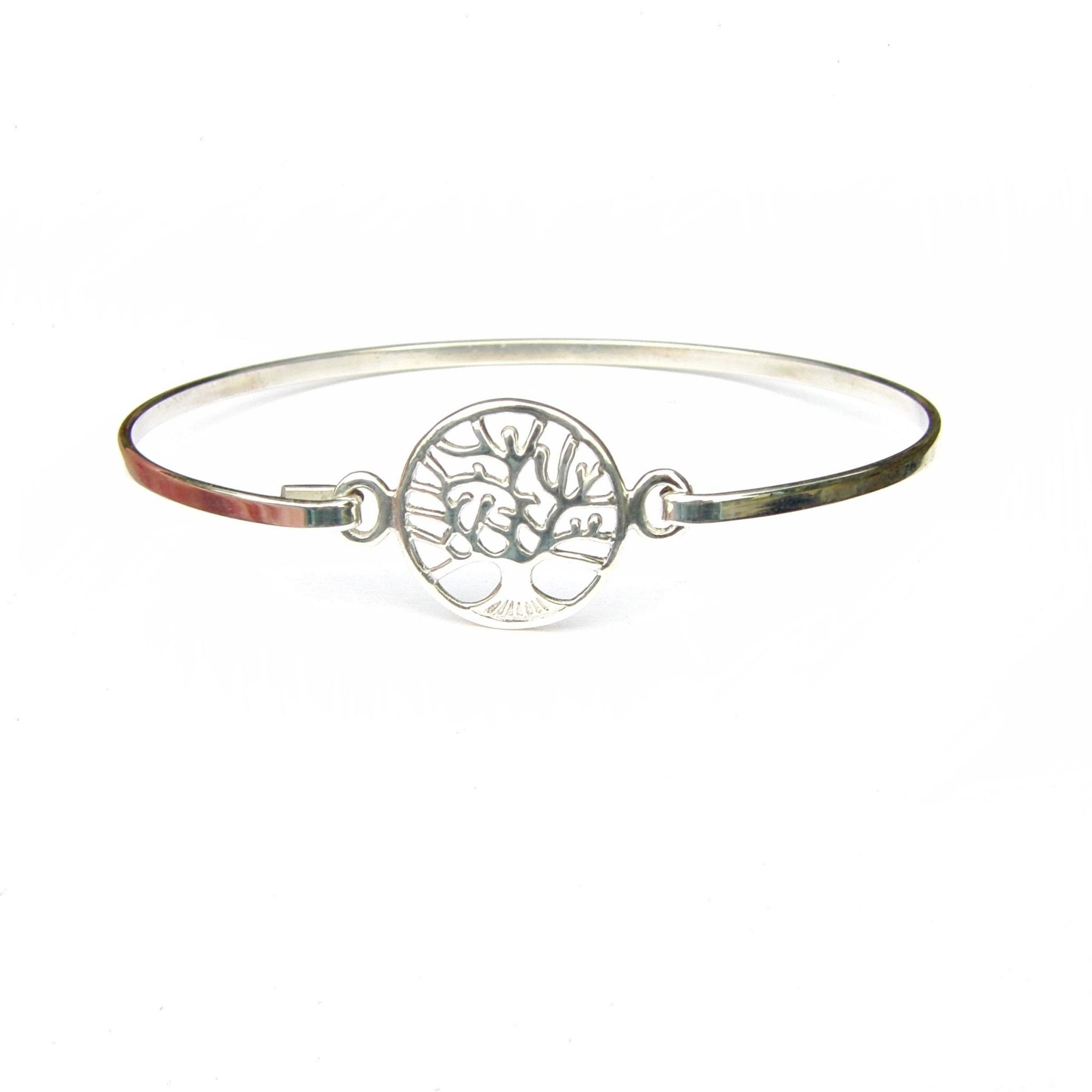 Pretty Tree of Life Bangle