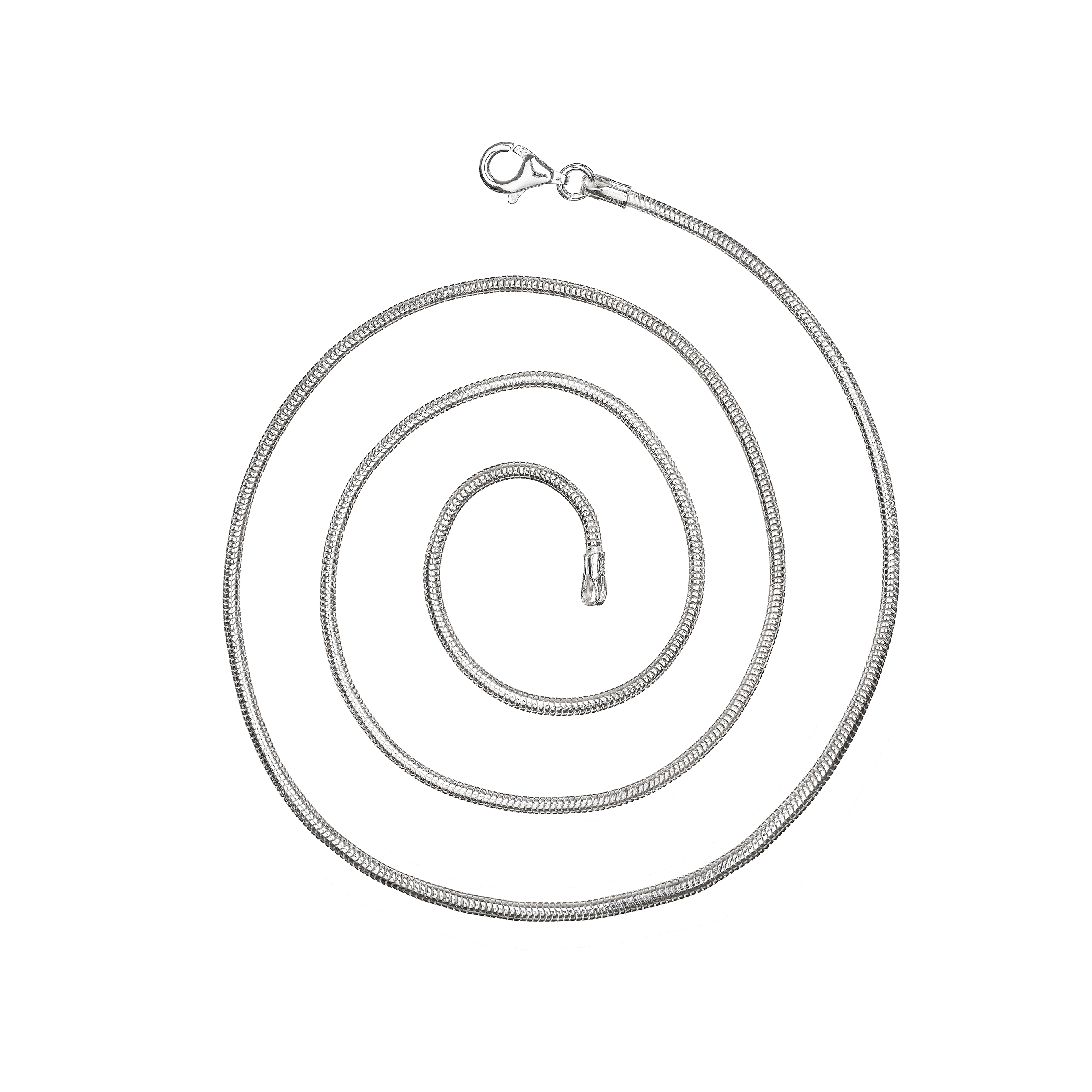 Sterling Silver 1.6mm Snake Chain